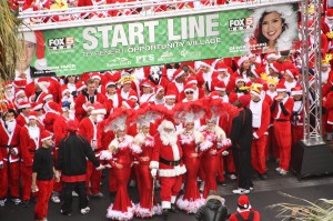 THE GREAT SANTA RUN!